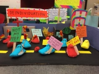 VEHS Psychology Class Projects - Peep Dioramas Thumbnail Image
