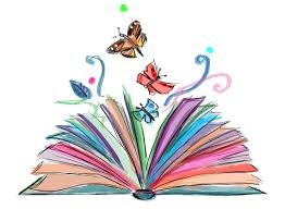 Butterfly flying out of book