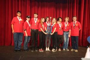 HHS Academic Decathlon team