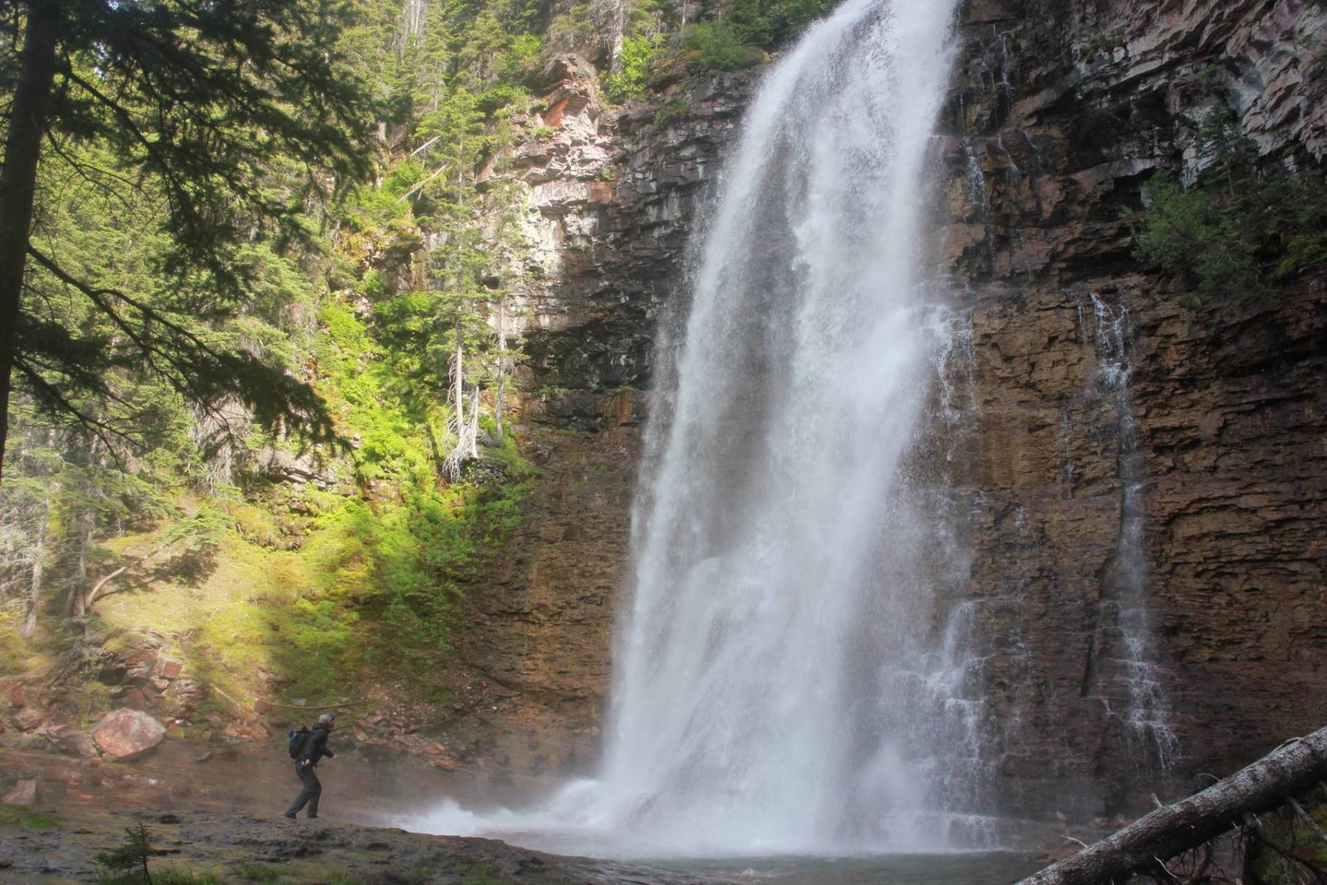 Virginia Falls, Glacier National Park, Montana