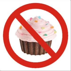No cupcakes