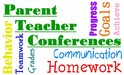 parent teacher conference sign