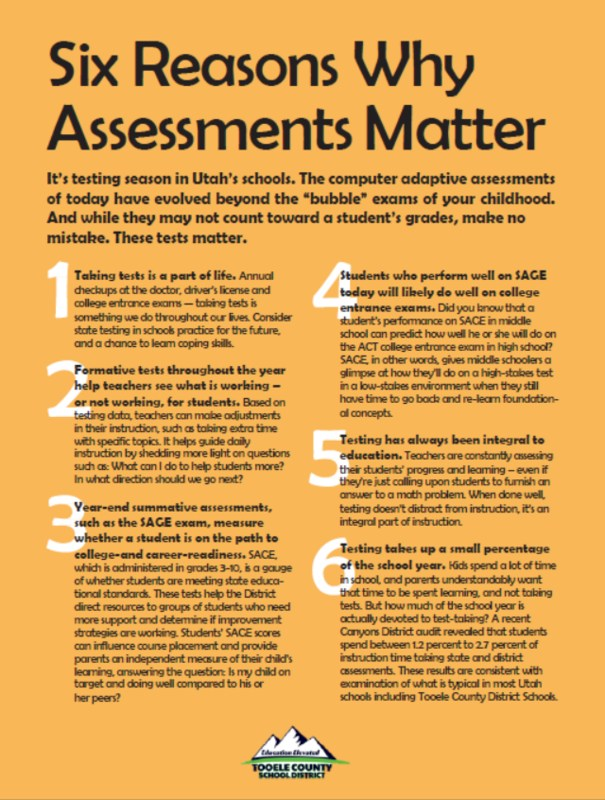 Why Assessments Matter! Thumbnail Image