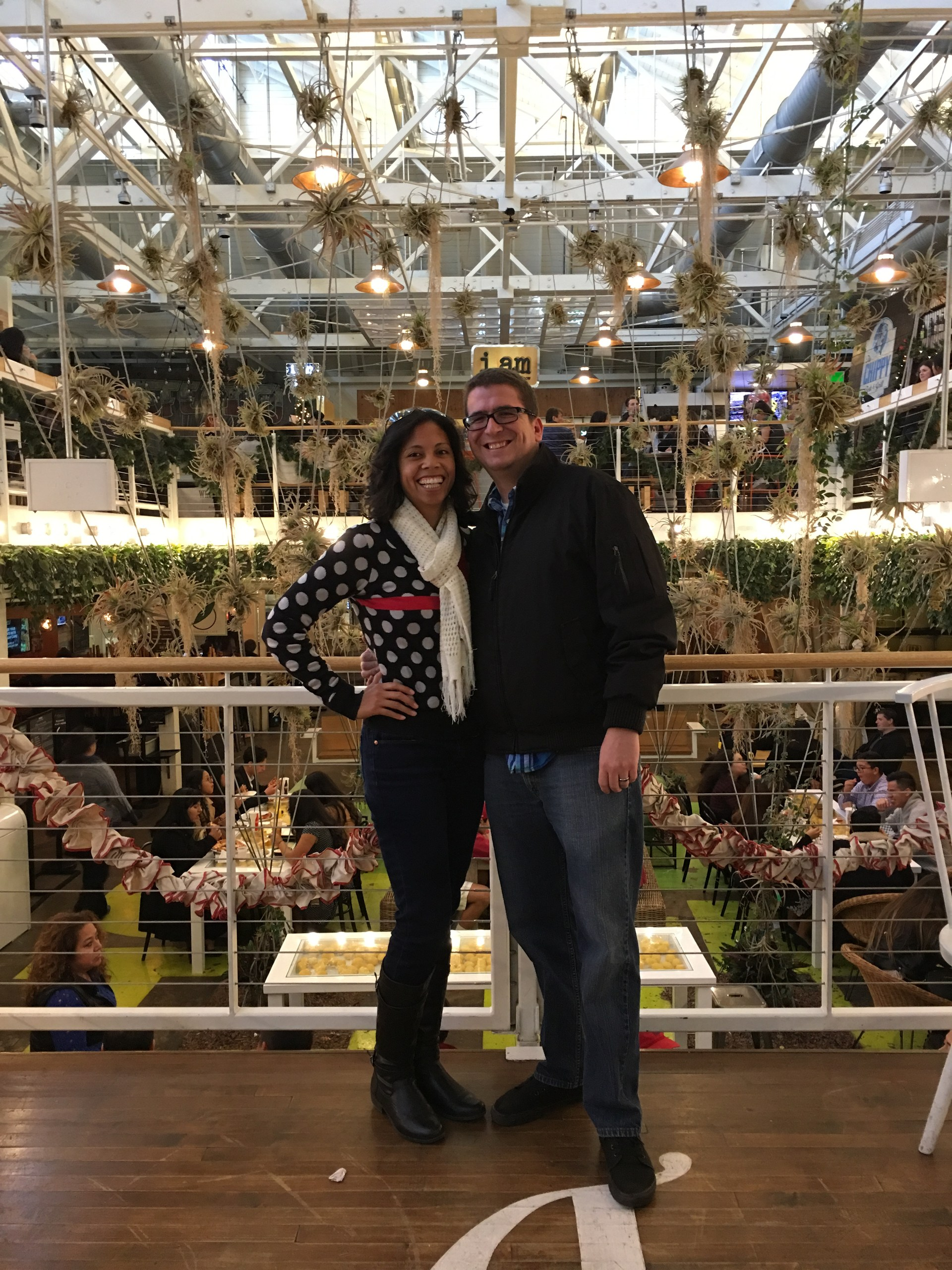 Mr and Mrs. Baugh at Anaheim Packing House
