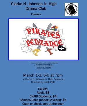 Pirates of Penzance Jr Poster