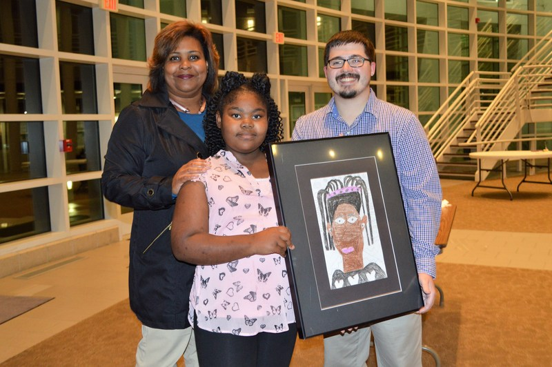 Outstanding Art Students Honored at Art Gallery Reception Thumbnail Image