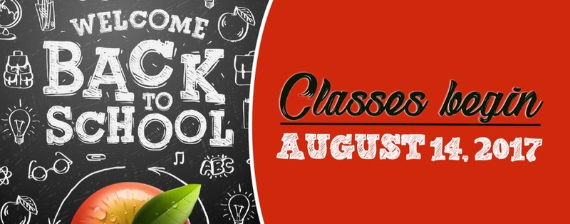 School Starts Monday, August 14 Featured Photo
