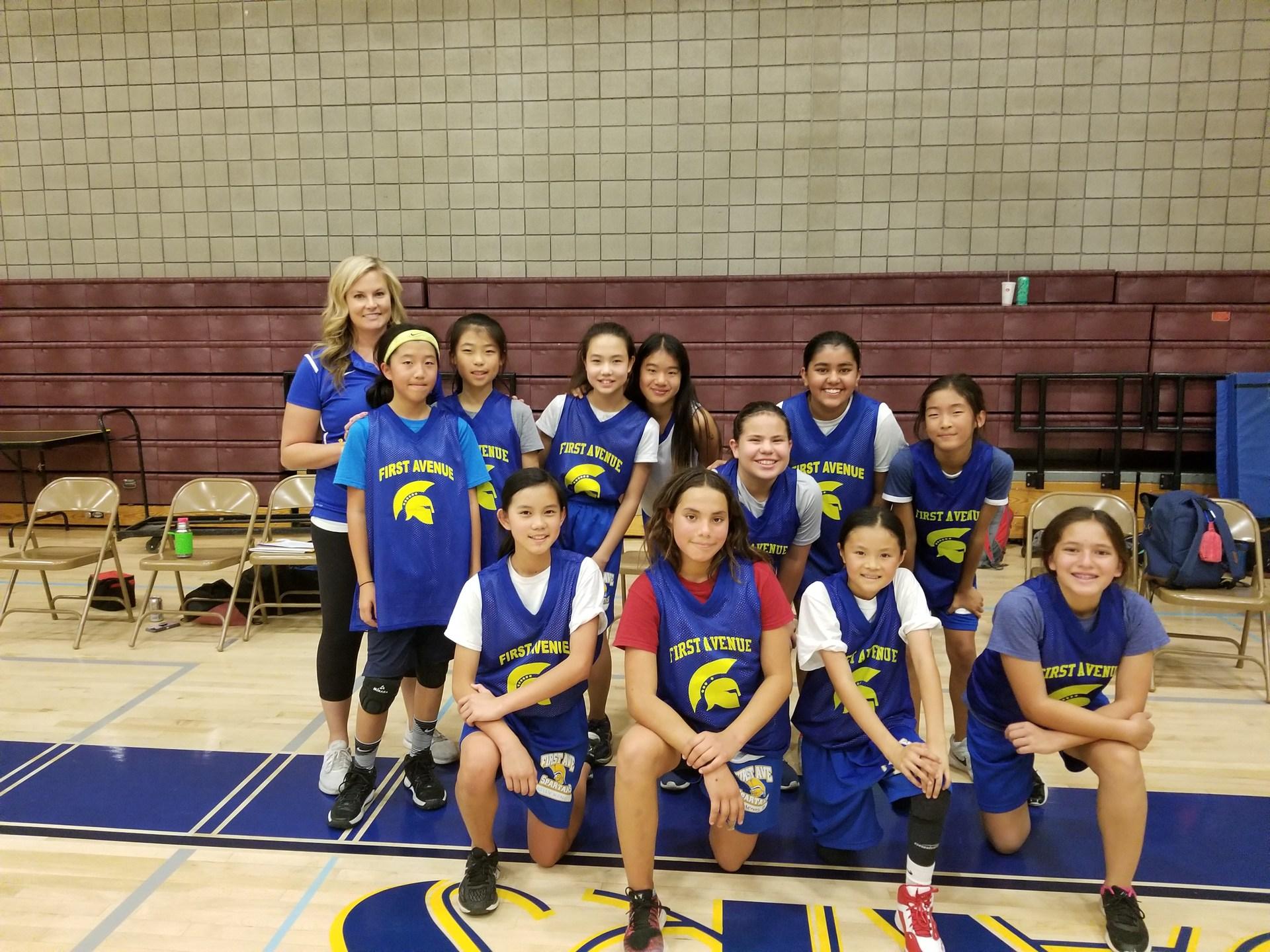Girls Basketball JV 17-18