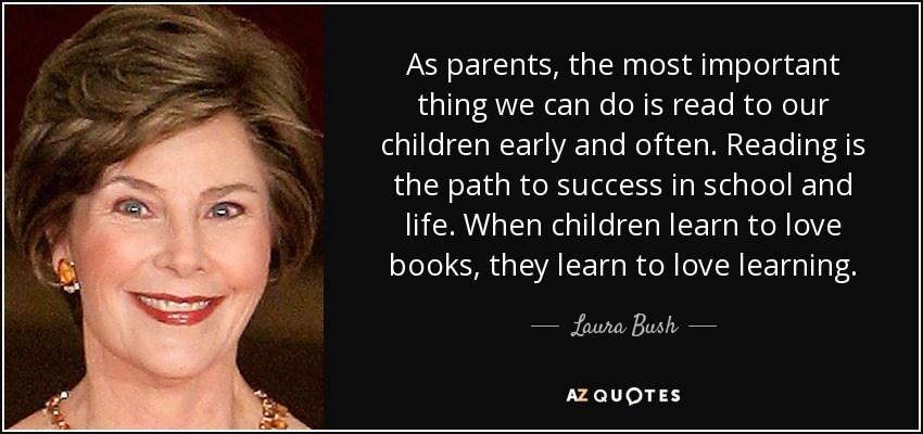 Laura Bush Quote