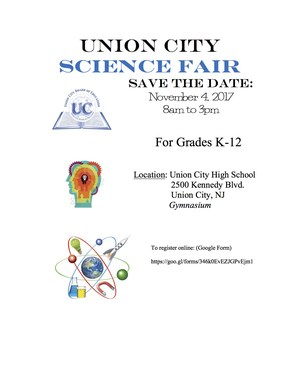 Science Fair Notice