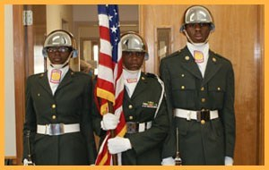 JROTC with Colors