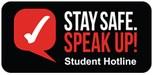 Stay Safe Speak Up logo