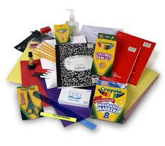 School Supply Kits Available Online Now! Thumbnail Image