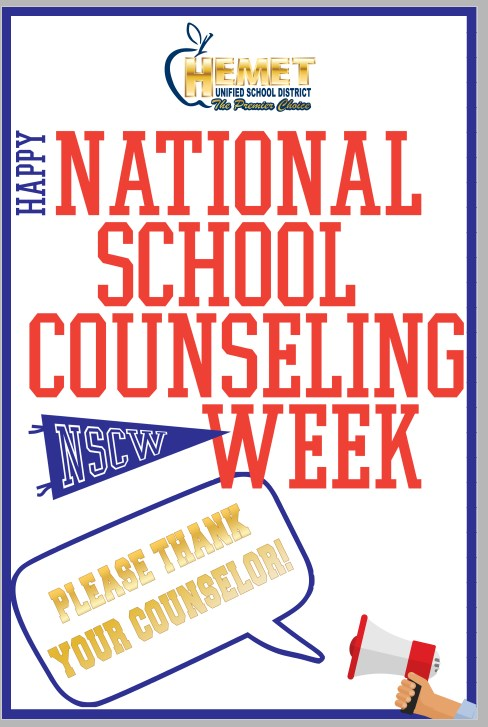 School Counselor Week banner