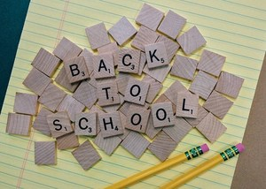 Scrabble Back to School Tiles