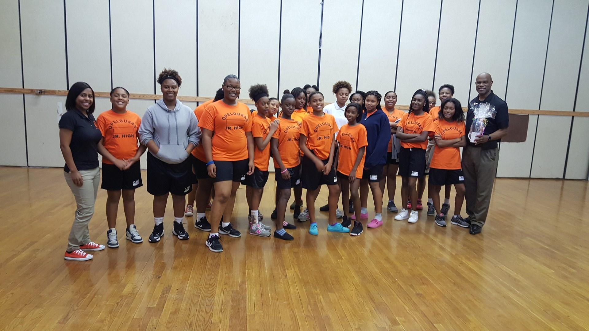 Mayor Reggie Tatum came to visit during our line dance unit. Super Fun!