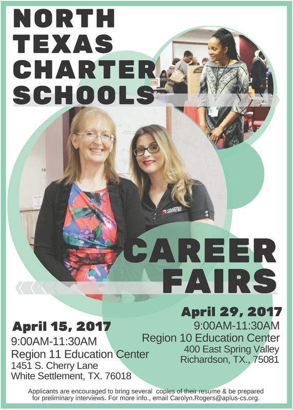 North Texas Charter Schools : Career Fairs in April Thumbnail Image