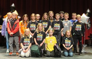 Finalists competed for the Page Elementary Battle of the Books championship.