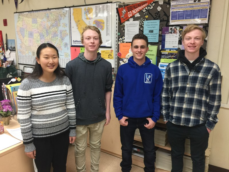 Four BHHS Seniors Advance to Finalist Standing for National Merit Scholarships Thumbnail Image