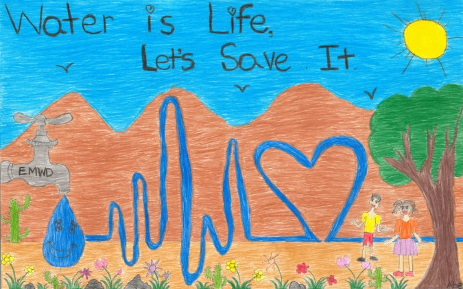 Water is life poster