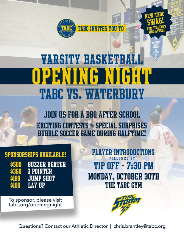 Join us for Opening Night! Thumbnail Image