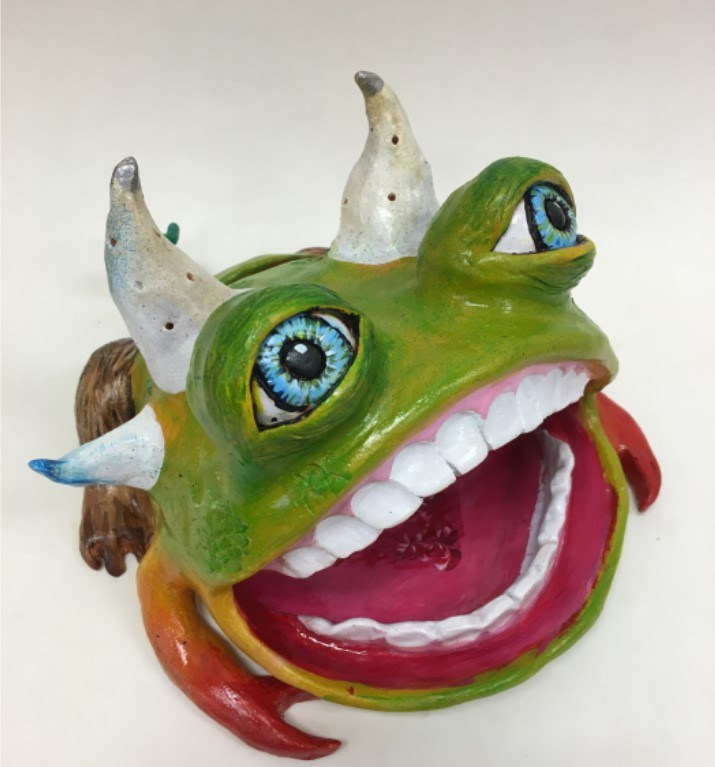 17-18 Pioneer High School Ceramics- J.Sanchez