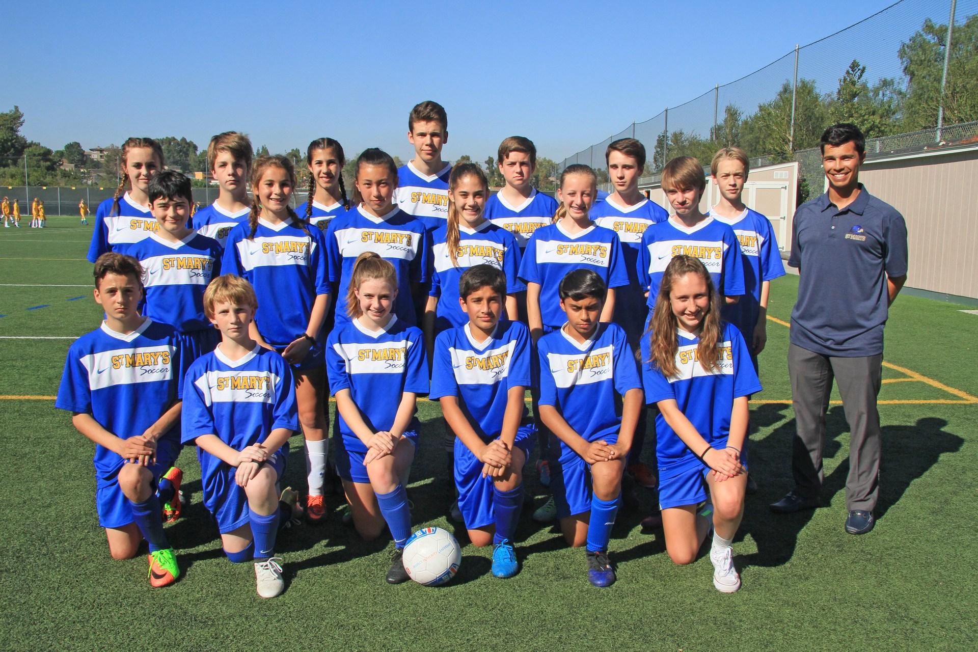 Mountain A coed Soccer team