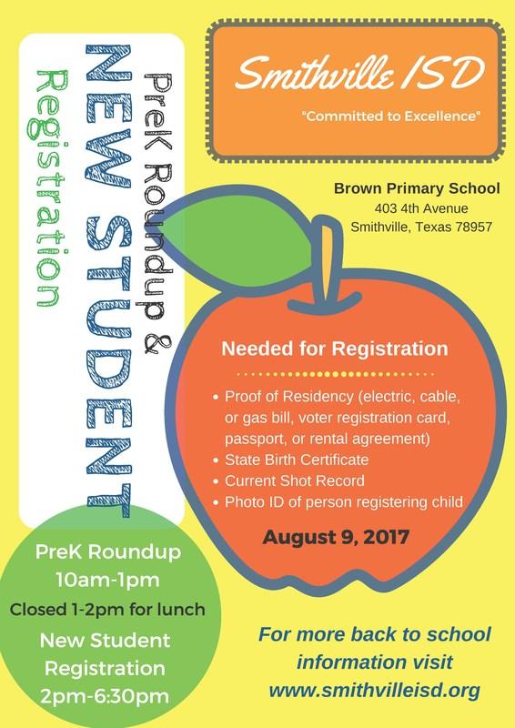 PreK Roundup / New Student Registration Thumbnail Image