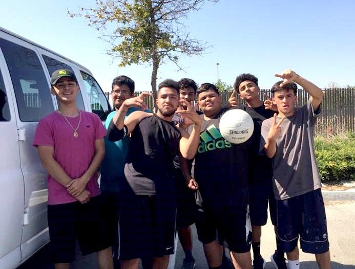 CVHS Volleyball Team