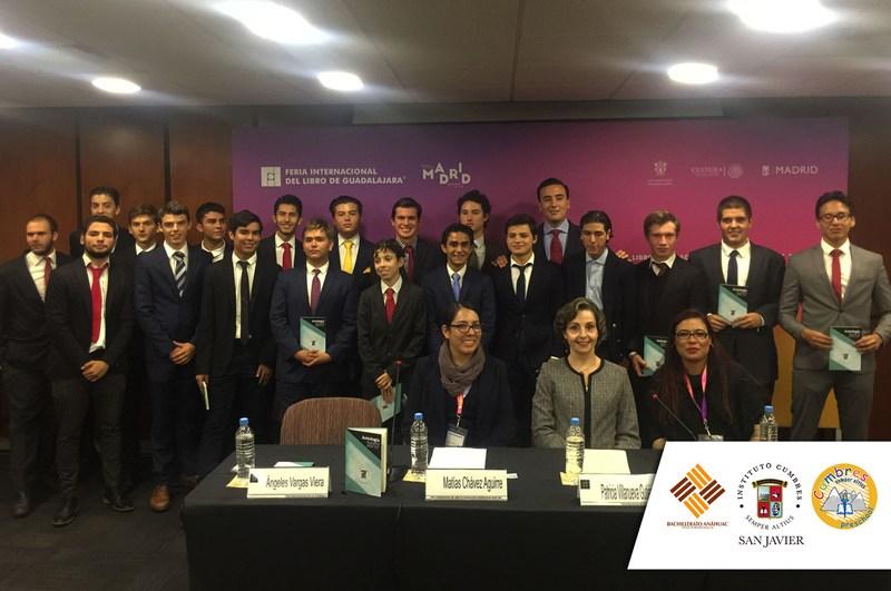 """Presentan alumnos del Instituto Cumbres San Javier """"Antología 2017"""" en la Feria Internacional del Libro en Guadalajara Featured Photo"""