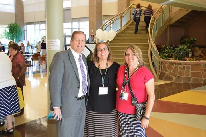 Superintendent, Director of Teaching and Learning, and Principal