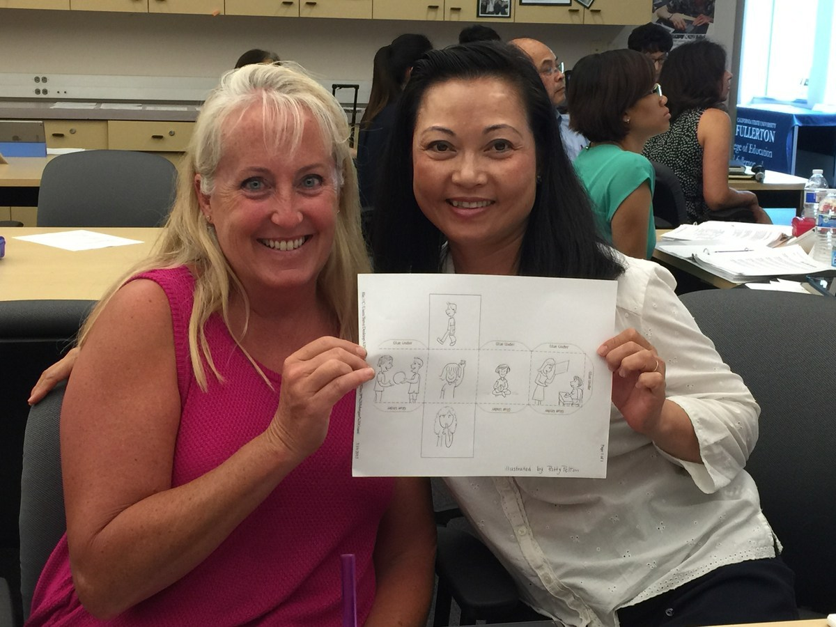 Mrs. Pelton & Mrs. Dang, the First Vietnamese Dual Language Immersion Teachers in California