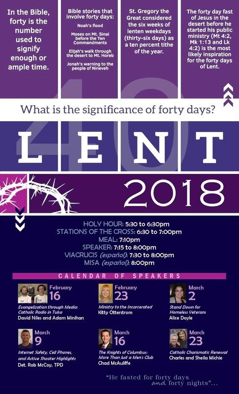 Lenten Friday Speaker Series at SPX Thumbnail Image