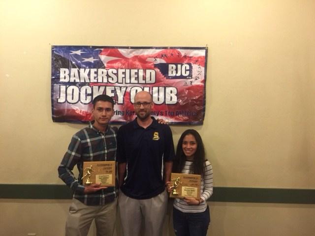 Analyssa Torres and Saul Cardenas both from Cross Country Honored at Jockey Club Thumbnail Image