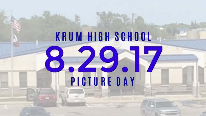 School Pictures Scheduled for August 29th Thumbnail Image