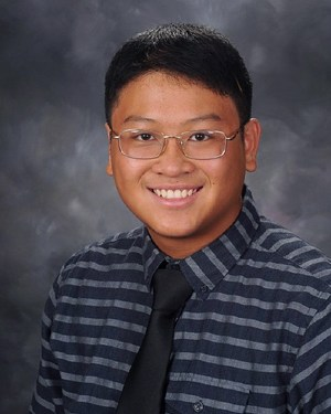 West Valley High School's Valedictorian Aaron Wu