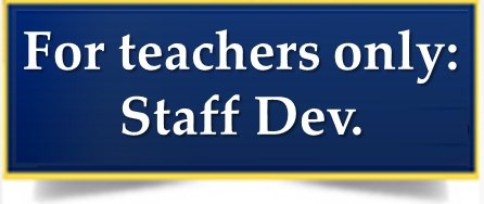 Teachers: Fall '17 Staff Dev. Days Thumbnail Image