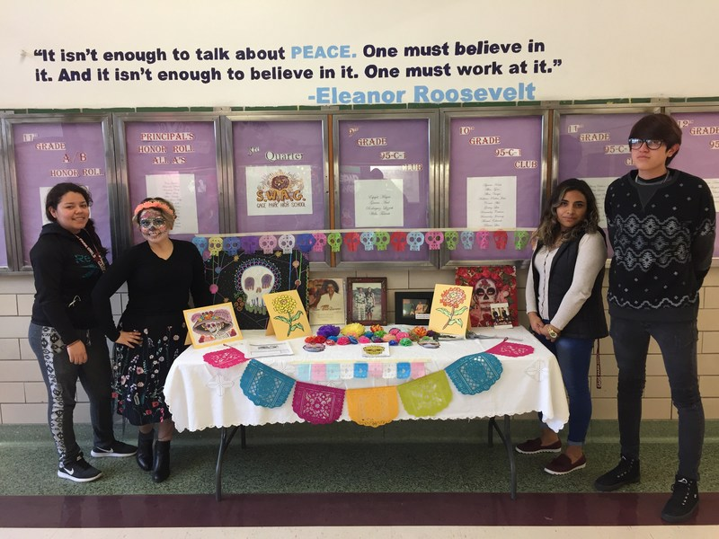 Gage Park Students and Staff Celebrate Day of the Dead Featured Photo