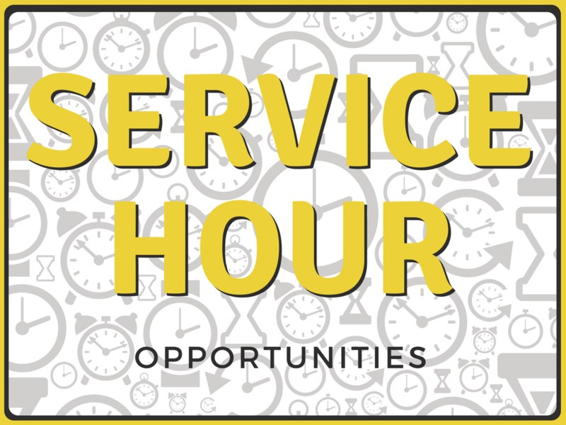 Service Hour Opportunities Thumbnail Image