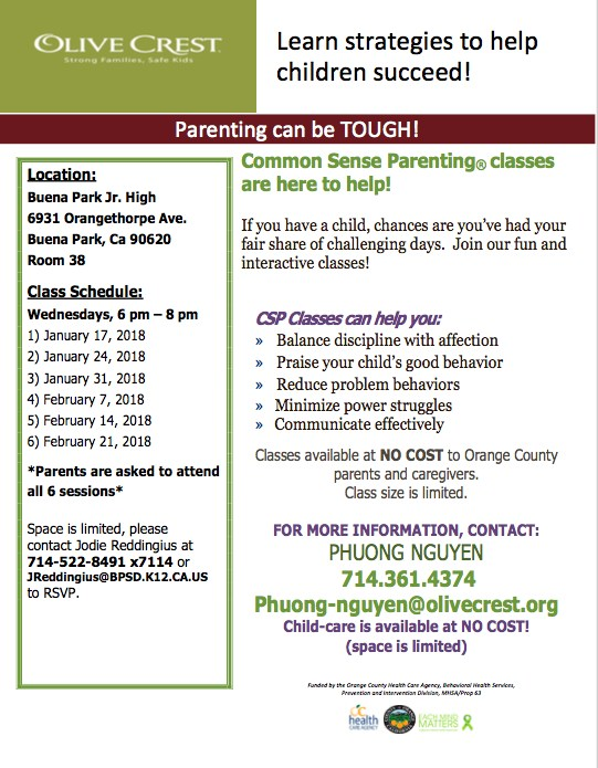 Parenting Classes (English)