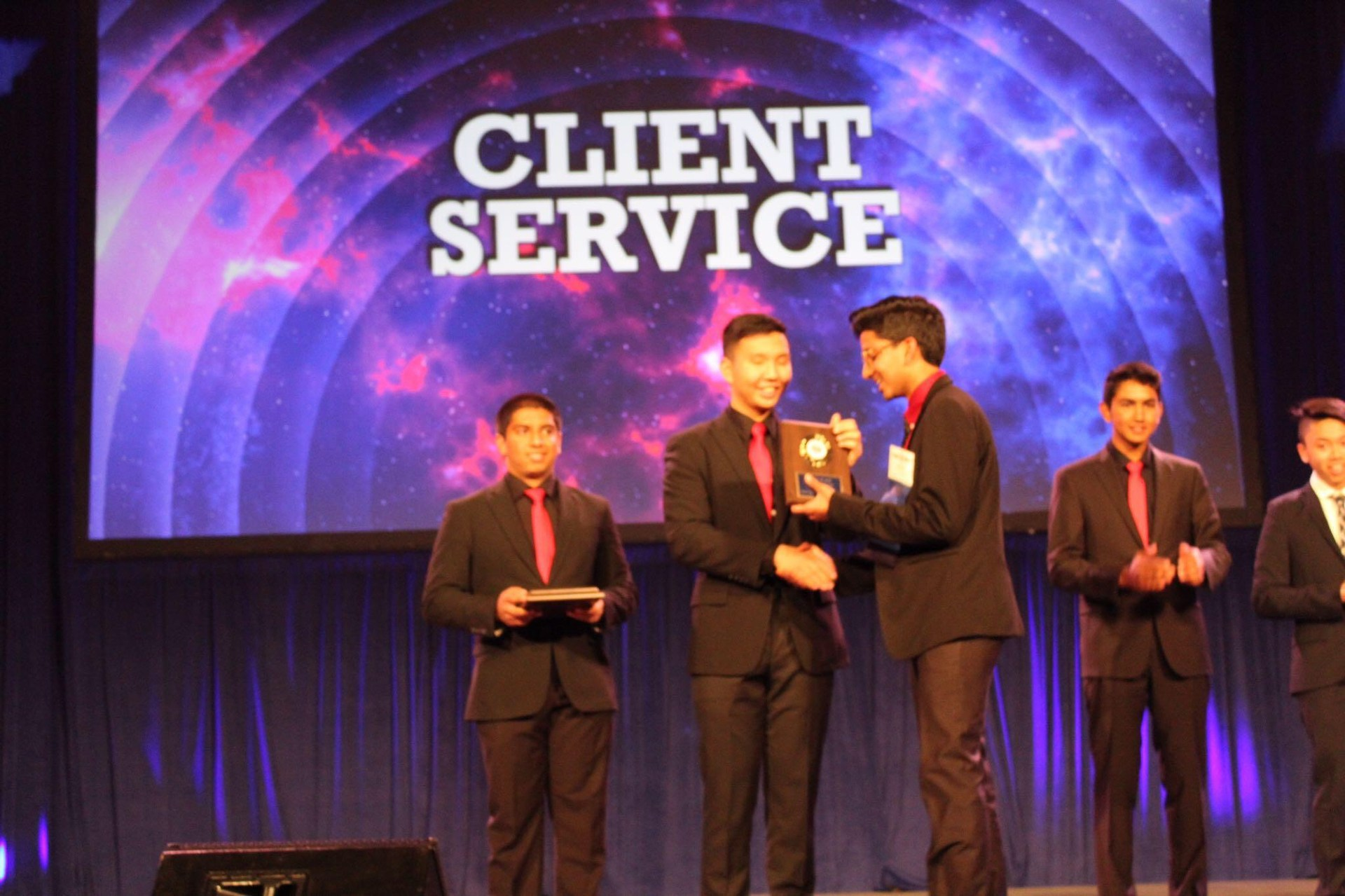 FBLA State Leadership Conference Sacramento Client Service 3rd place winner