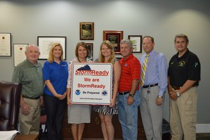 Warren County Schools certified as Storm Ready