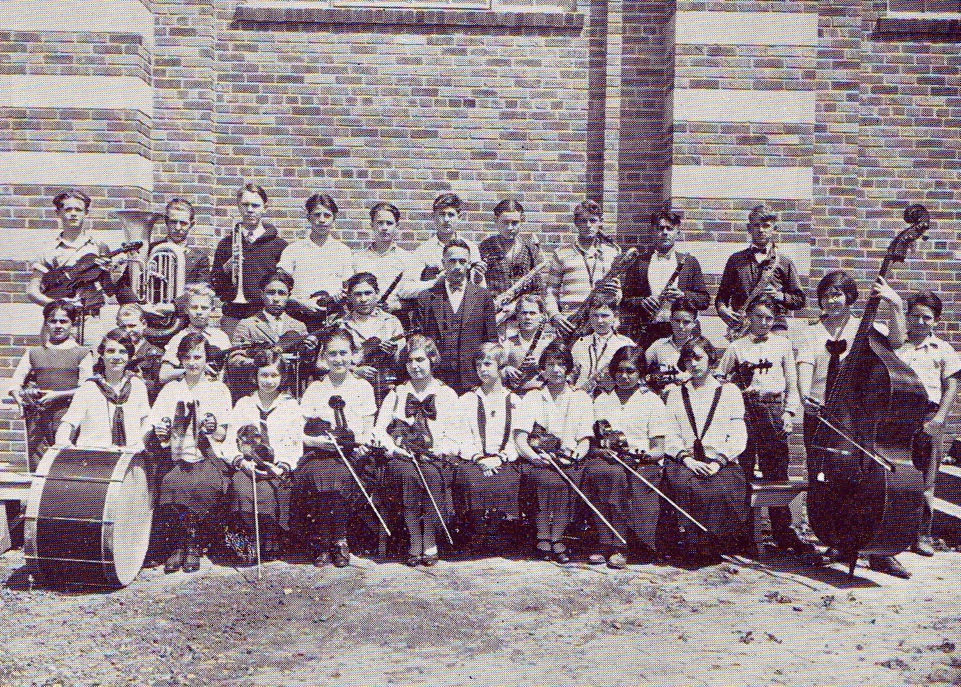 Our first Orchestra 1925