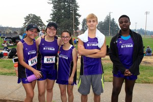Cross Country team on September 16, 2017