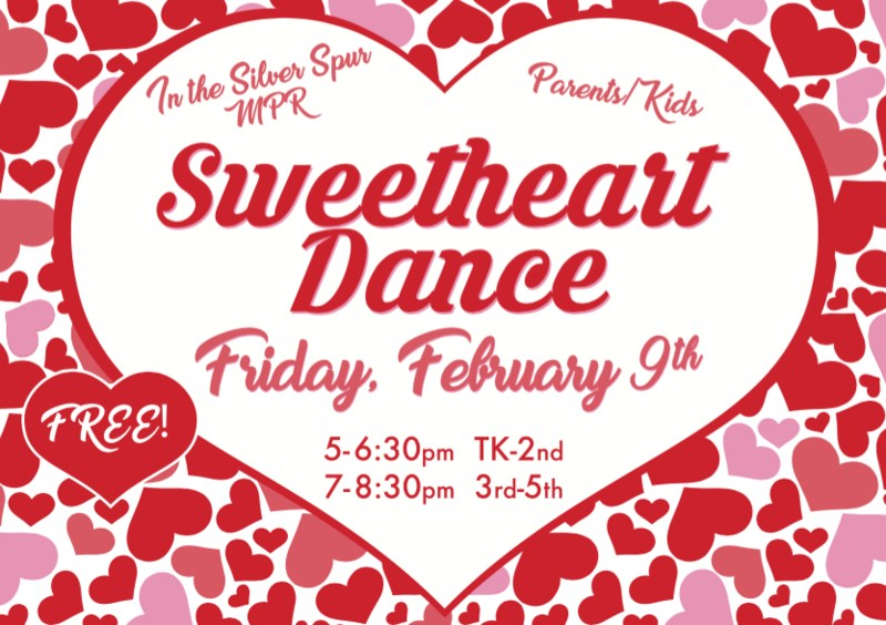 To RSVP for the Sweetheart Dance, click here Thumbnail Image