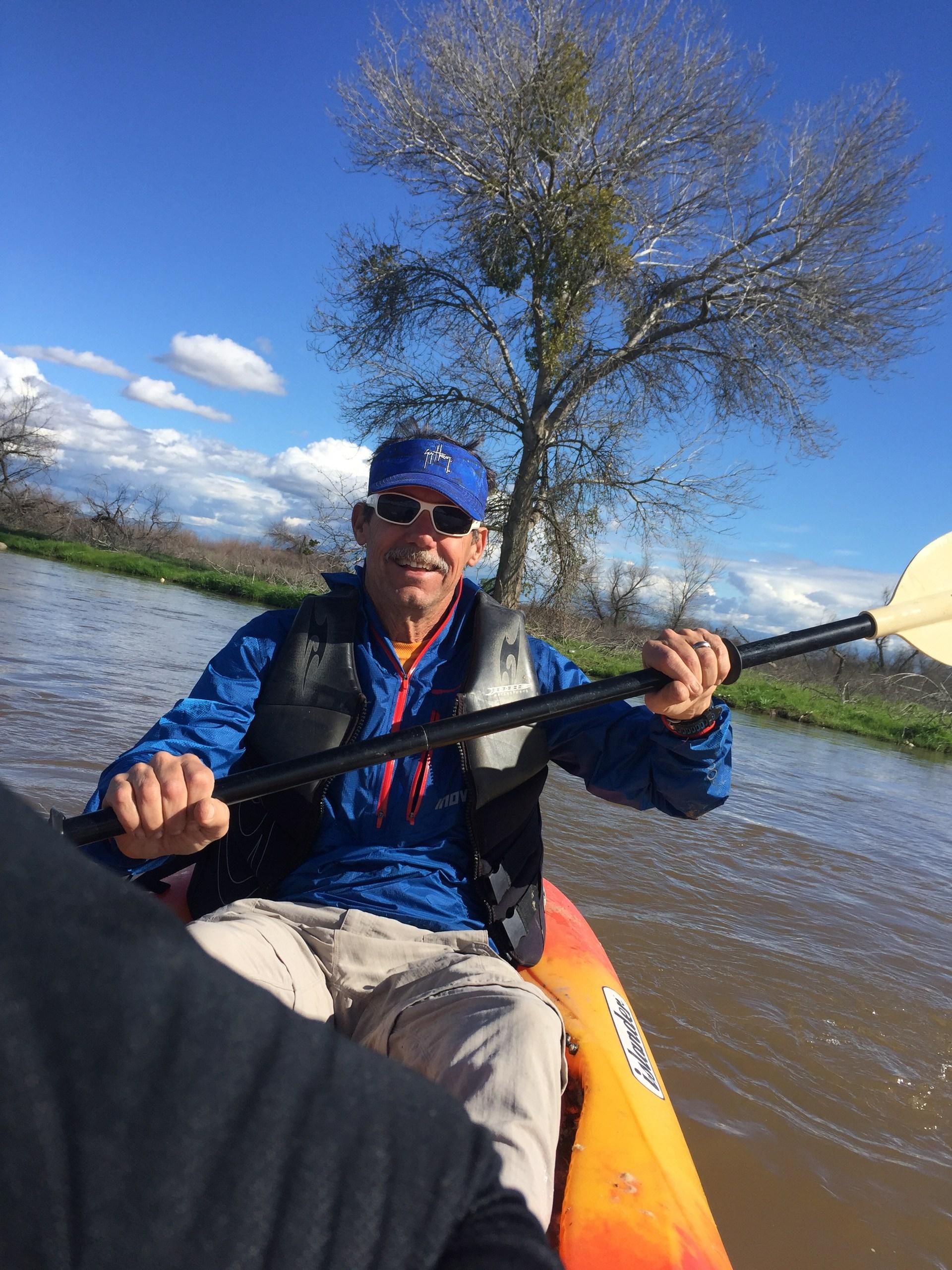 Kayaking in the Kern River