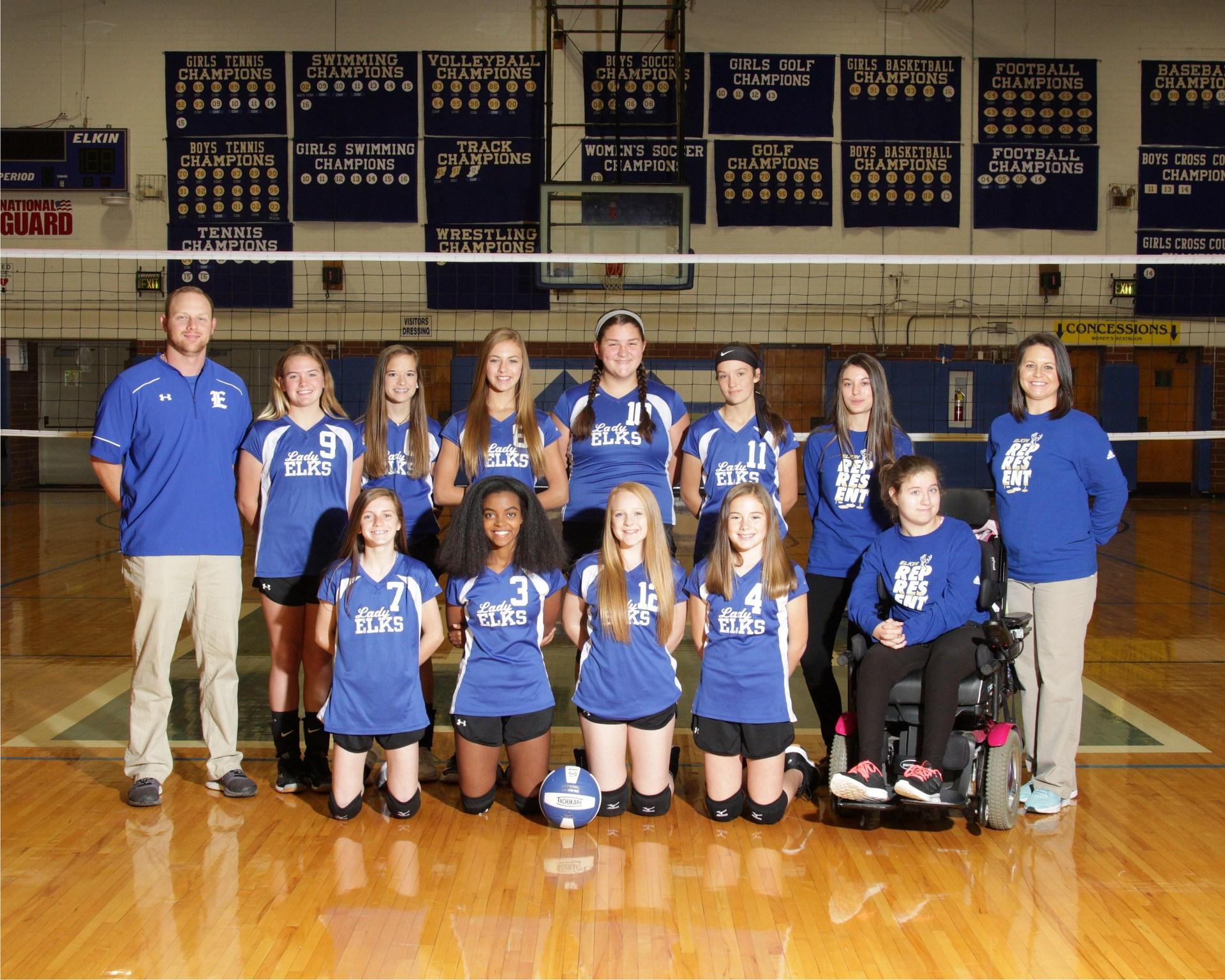 7th Grade Volleyball Team