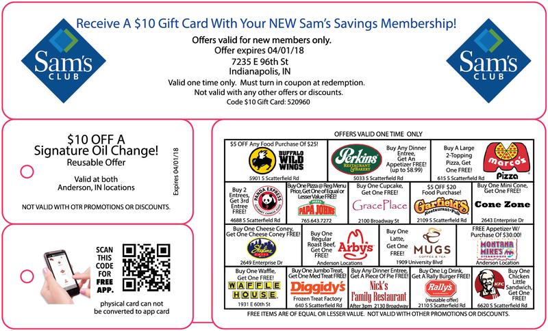 major saver card