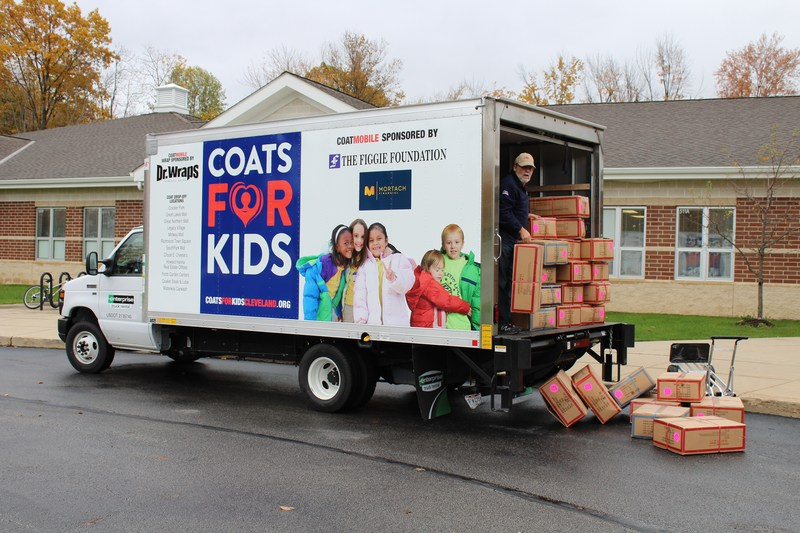 """Coatmobile"" Delivers Coats For Elementary And Preschool Students Thumbnail Image"