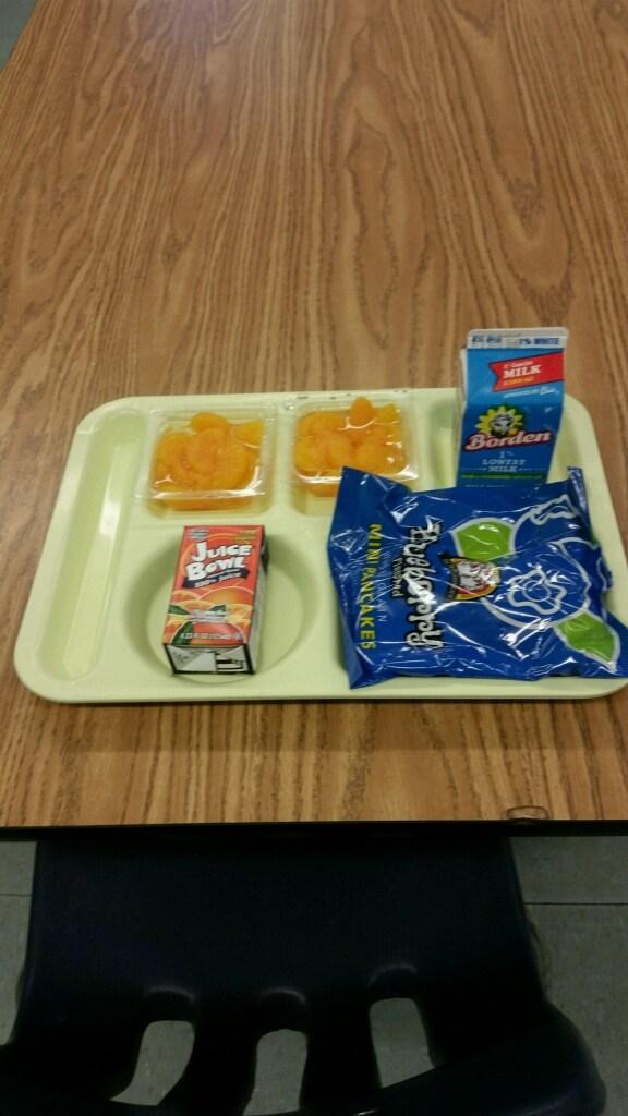 pancake breakfast tray